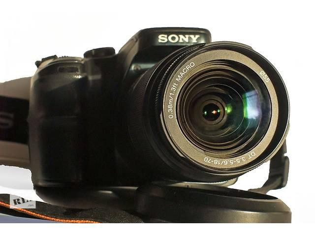 Sony-A100. Отличный полупрофессиональный фотоаппарат!- объявление о продаже  в Одессе
