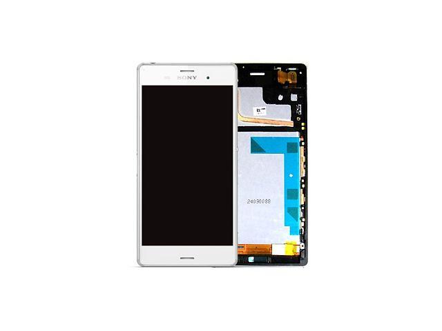 бу Sony D6603/ D6643/ D6653 Передняя панель с сенсором и дисплеем, White в Белой Церкви