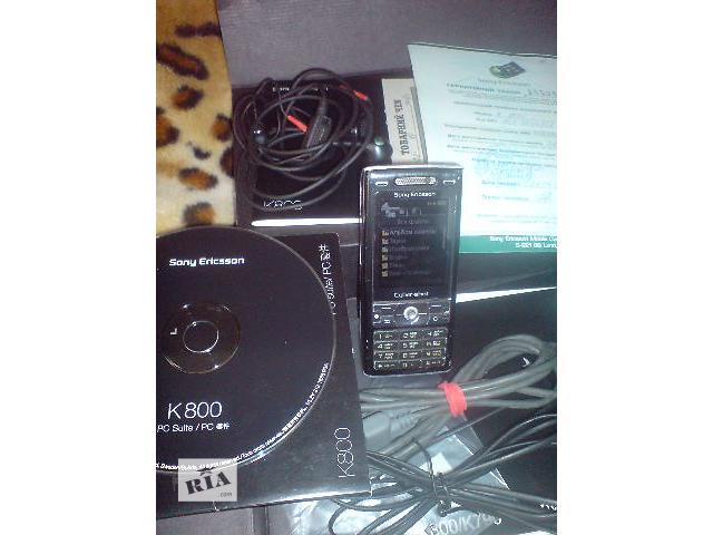 Sony Ericsson K800i оргинал- объявление о продаже  в Киеве