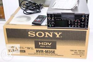 Новые Профессиональные видеокамеры Sony
