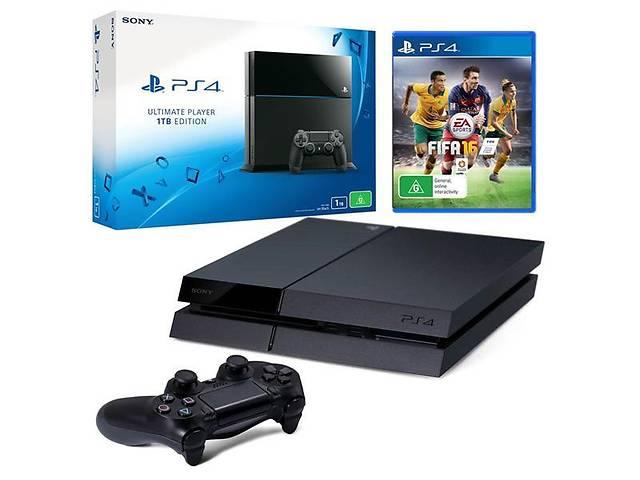 продам Sony PlayStation 4 1TB + FIFA 16!!! бу в Дружковке