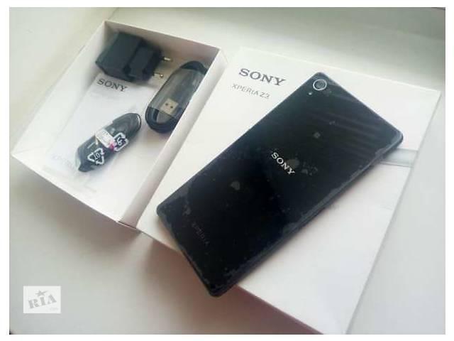 купить бу Sony Xperia Z3 Black в Кременчуге
