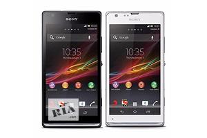 Sony M35h большой и яркий дисплей 5