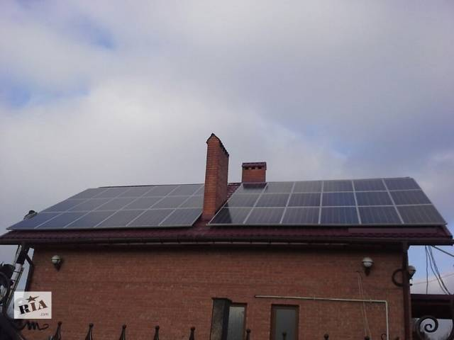 купить бу Солнечная сетевая станция 10квт  в Украине