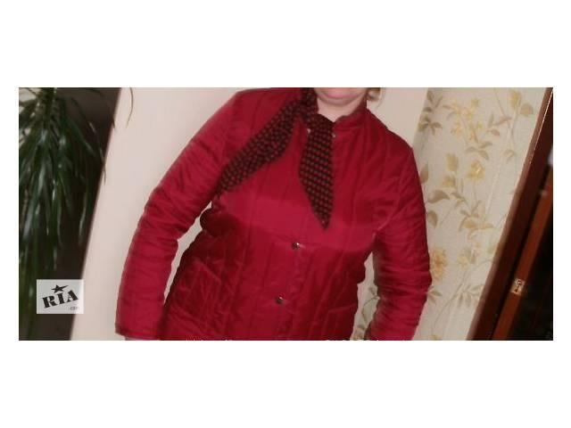 продам современная курточка стеганка производитель Польша бу в Мариуполе