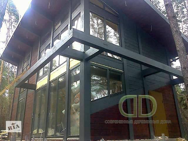 Современные деревянные дома ,клееный брус,гнуто-клееный брус- объявление о продаже   в Украине