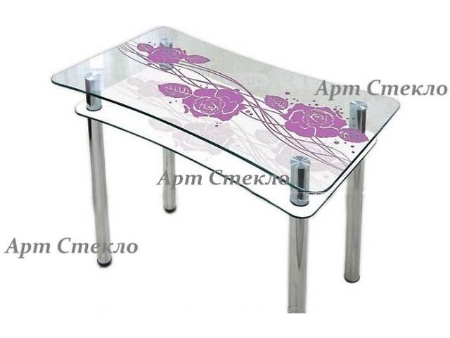 купить бу Современные обеденные столы из стекла в Дружковке
