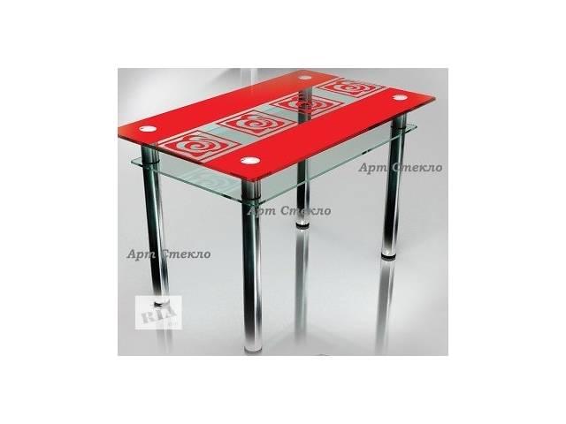 Современные столы из стеклы в кухню- объявление о продаже  в Дружковке