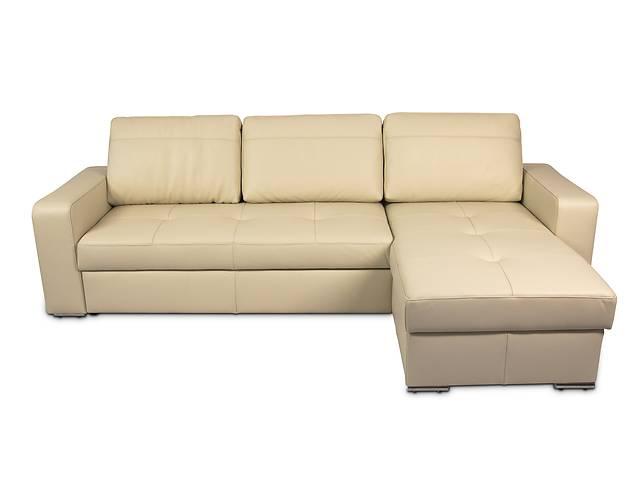 купить бу Новый угловой диван в коже - FX10 B1. Есть в наличии. Гарантия в Киеве