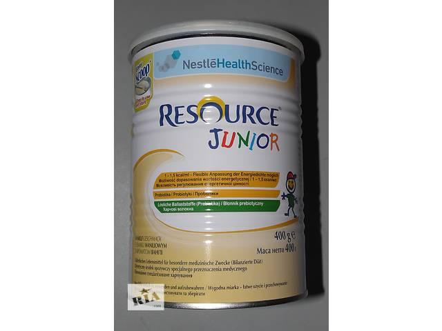 продам Специальное питание  Nestle Resource Junior с ванилью, 400 гр. бу в Коростене