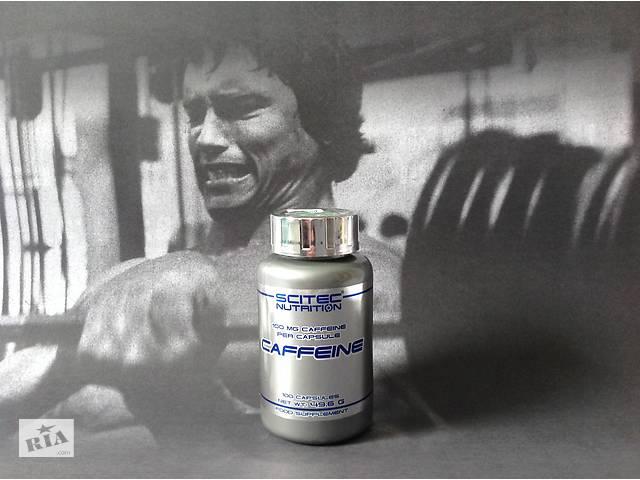 Энергетик Scitec Nutrition Caffeine — 100 капсул