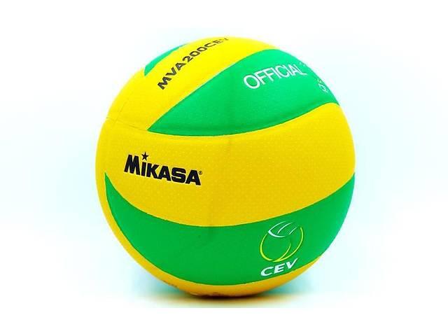 продам Мяч волейбольный Клееный PU MIK VB-5940-J MVA-200CEV бу в Одессе