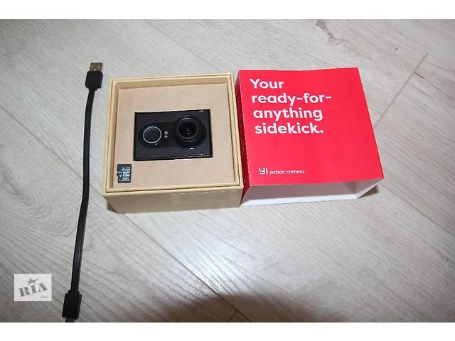 бу Спортивная камера Xiaomi YI МАКСИМАЛЬНАЯ комплектация в Тернополе