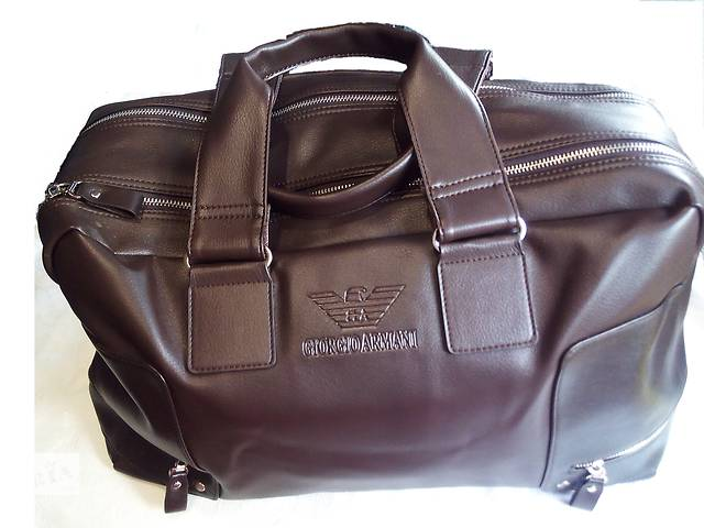 продам спортивная сумка из эко-кожи на 2 отделения со змейкой бу в Одессе