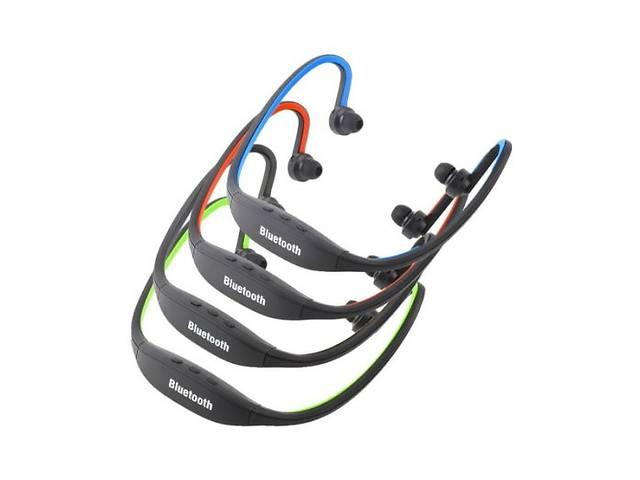 бу Спортивные беспроводные наушники bluetooth с микрофоном (ZK-S9) (слот для microSD) (1 цвет) в Киеве