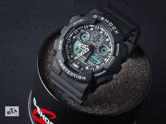 Спортивные наручные часы Casio G-Shock GA-100. Лучшее качество!- объявление о продаже  в Киеве