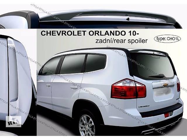 купить бу Спойлер козырек тюнинг Chevrolet Orlando Шевроле Орландо в Луцке
