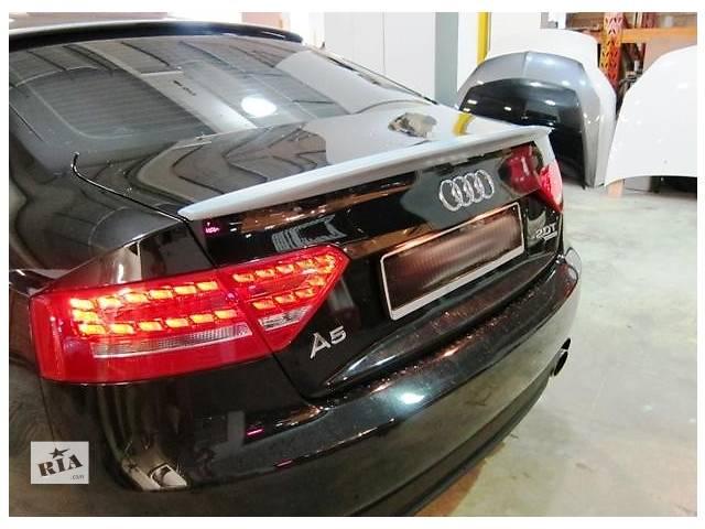 продам Спойлер сабля тюнинг Audi A5 Coupe бу в Луцке