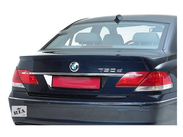 бу Спойлер, липспойлер, сабля, тюнинг BMW E65 рестайл в Луцке