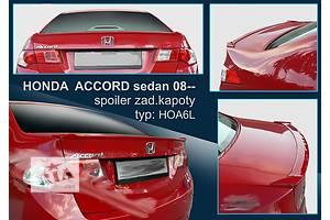 Новые Спойлеры Honda Accord