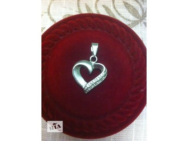 купить бу серебряная подвеска 925 в Львове