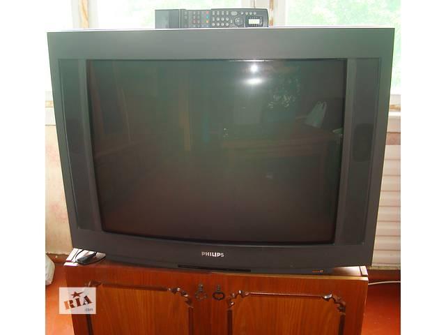 Срочно недорого большой кинескопный телевизор Philips- объявление о продаже  в Киеве