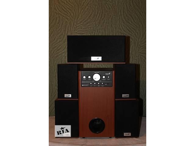 Срочно продается аккустическая система Genius SW-HF5.1 5005 Cherry Wood- объявление о продаже  в Днепре (Днепропетровск)