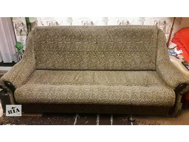 продам срочно продам 2 дивана по цене одного +кресло!! бу в Коростене (Житомирской обл.)