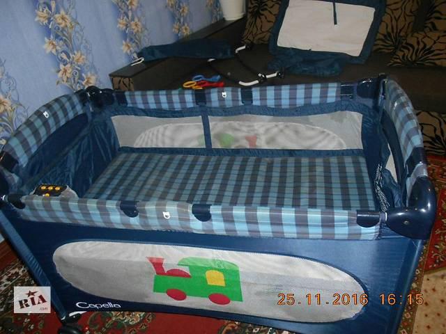 Срочно продам кроватку манеж- объявление о продаже  в Павлограде