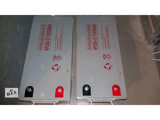 Продаю новые аккумуляторные батареи GEL 200Ач12в- объявление о продаже  в Киеве