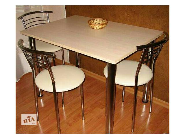 бу Срочно продам стол и стулья для кухни. в Броварах