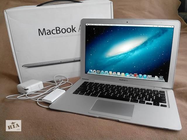 бу Срочно продам топовый ультрабук Macbook Air полный комплект в Киеве