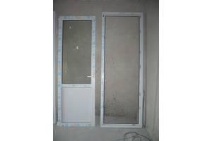 б/у Металлопластиковые двери Veka