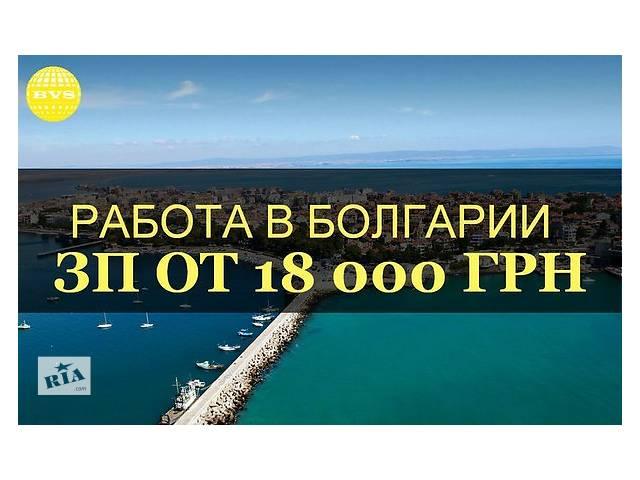 Срочно! Работа В Болгарии!- объявление о продаже   в Украине