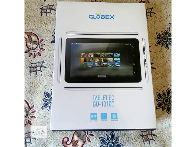 Планшет Globex GU1010C + карта памяти 16GB...- объявление о продаже  в Вишневом (Киевской обл.)