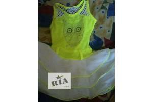 б/у Детские летние платья