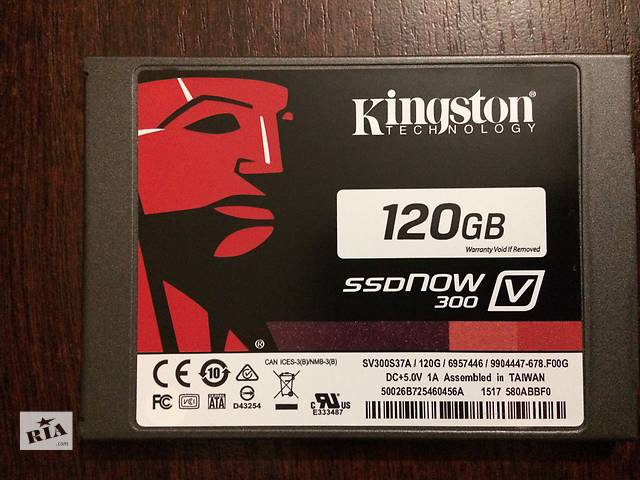 "бу SSD Kingston SSDNow V300 120GB 2.5"" в Ромнах"