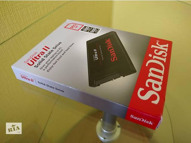 продам SSD SanDisk Ultra II 960GB (SDSSDHII-960G-G25) бу в Киеве