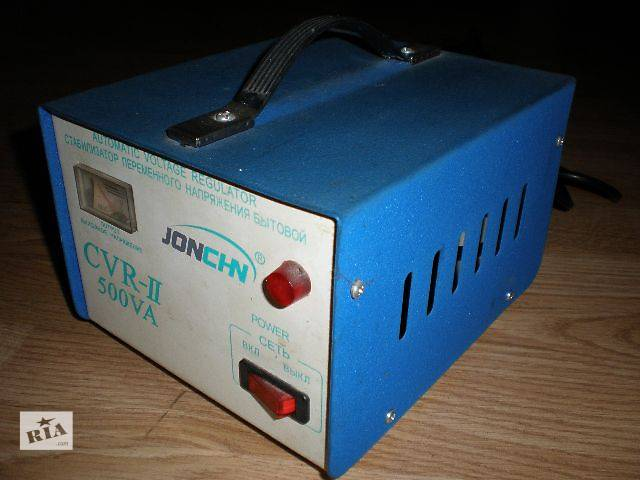 Стабилизатор напряжения Jonchn CVR-II 500va- объявление о продаже  в Гнивани