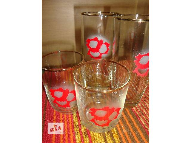 купить бу стаканы стеклянные в Киеве