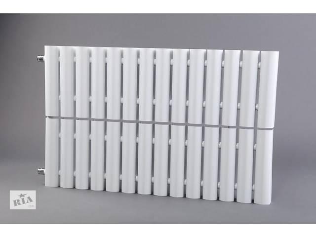 купить бу Стальной секционный радиатор отопления (батареи) MaxiTerm КСМ-1 600, боковое подключение. в Киеве