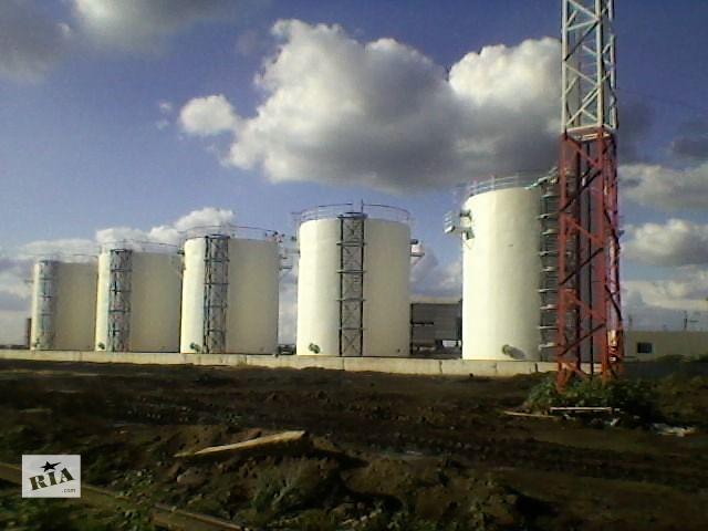 бу Стальные вертикальные резервуары для нефтебаз в Симферополе