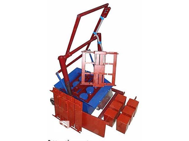 продам Станок шлакоблочный для изготовления строительных блоков бу в Тернополе