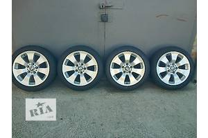 Комплект зимних шин с диском на BMW 3. Диски Star Spoke 158 R17, шины Goodyear Eagle Ultra Grip GW 3 RunFlat 225/45R17