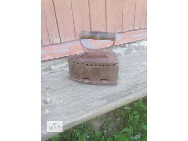 старинный утюг на углях- объявление о продаже  в Сколе