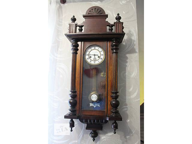 Старинные  антикварные  часы настенные с боем GUSTAV BECKER.- объявление о продаже  в Пятихатках
