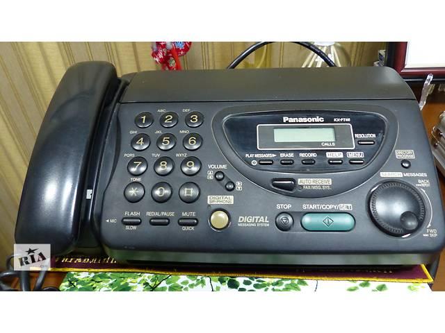 продам Стационарный телефон/факс/автоответчик PANASONIC KX-FT46  бу в Черноморске (Ильичевск)