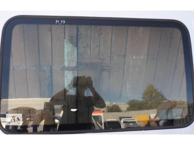 бу Стекло сдвижной двери на Рено Мастер Renault Master Опель Мовано Opel Movano 2003-2010 в Ровно