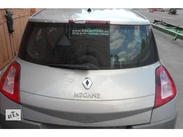 купить бу Стекло задней двери ляды Renault Megane Рено Меган 1,5 dCi 2002-2006 в Ровно