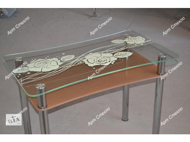 бу Стеклянные столы для кухни. Разные размеры и цвета в Дружковке